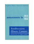 SIUE Undergraduate Catalog, 1959-1960