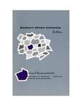 SIUE Undergraduate Catalog, 1962-1964