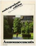 SIUE Undergraduate Catalog, 1980