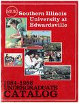 SIUE Undergraduate Catalog, 1984-1986