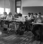 63-297; Students Sitting in Classroom by Southern Illinois University Edwardsville