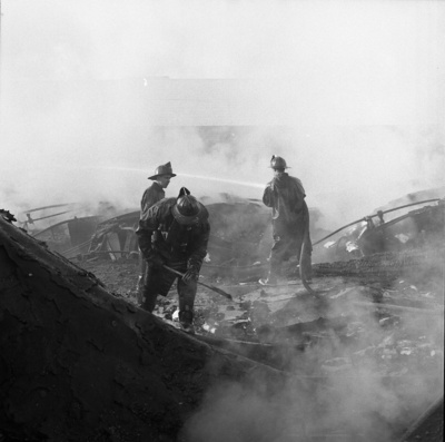 66-434; Firemen at Wagner Complex