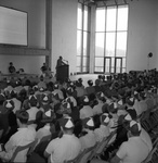 67-45; Student Orientation for Freshmen in Unfinished University Center Ballroom by Southern Illinois University Edwardsville