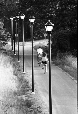72-14; New Exterior Light Posts on Bike Path to Tower Lake