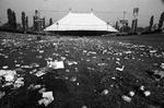 75-58; Lawn Debris after MRF Concert