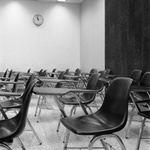 77-414; Chairs in Empty Classroom