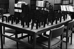78-256; Bookends on Library Table