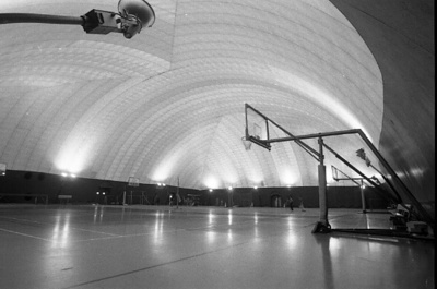 78-379; Interior of First Bubble Gym
