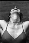 78-435; Swimmer at Tower Lake Beach