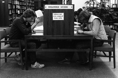 81-251; Student Researchers in the Library