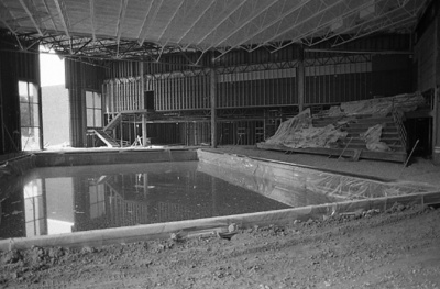 82-101; Vadalabene Center Indoor Pool during Construction