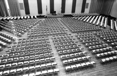 84-133; Chairs in University Center Ballroom