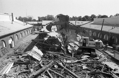 84-408; Demolition at Wagner Complex