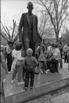 85-113; Robert Wadlow Statue Unveiling at School of Dental Medicine